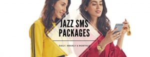 Jazz SMS Plans for Prepaid Users