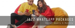 Jazz WhatsApp Plans for Prepaid Users